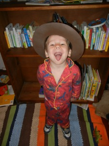 Silly cowboy